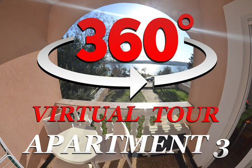 virtual tour of A&B apartments Turanj